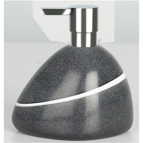 Distributeur de savon Spirella 'Etna' pierre