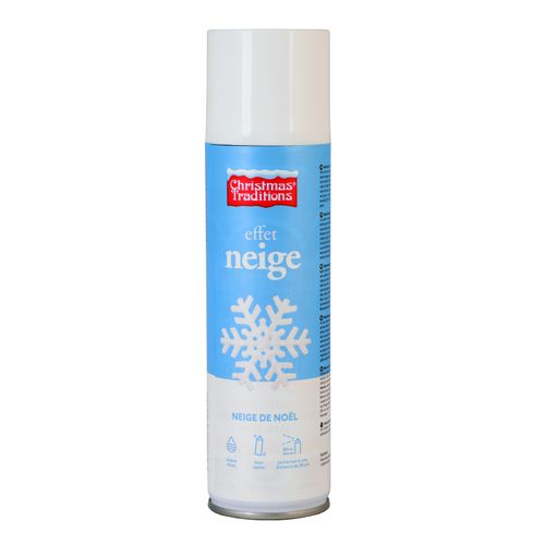 Bombe neige Christmas Tradition Snow spray blanc 600ml