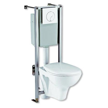 Pack wc suspendu Sencys 'Siamp' 3/6 L