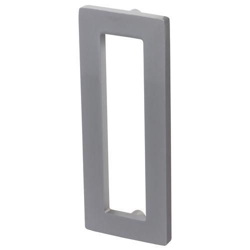 Storemax handgreep vierkant aluminium - 2 stuks