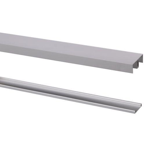 StoreMax Basic schuifdeur rail aluminium 240 cm type R-20