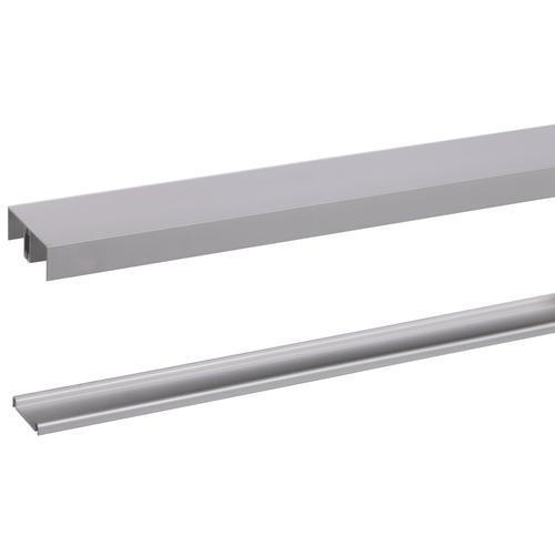 Rail avec guide R20 pour porte roulante Storemax alu 360cm max 20kg