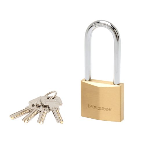Cadenas Master Lock laiton 50mm et anse 64mm extra épais