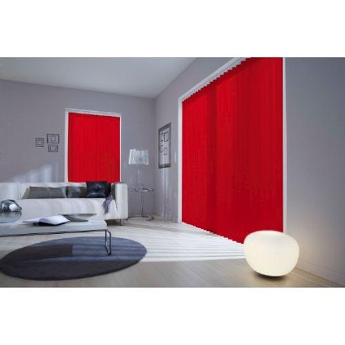 Lamelles Madeco 'Luxe' uni rouge 8,9 x 280 cm – 5 pcs