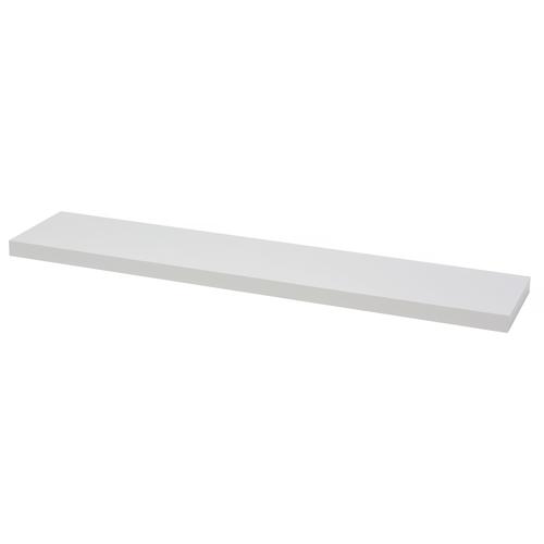 Duraline wandplank XL4 hoogglans wit PVC 120cm