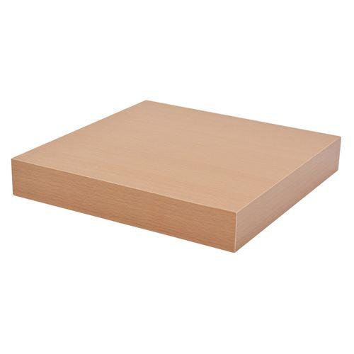 Duraline tablette XL4 1/4cercle  hêtre  23,5 x23,5 cm
