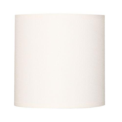 Abat-jour Corep coton toiline blanc Ø40cm