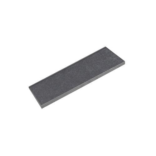 Sierplint Rock versale zwart 7x30,5cm