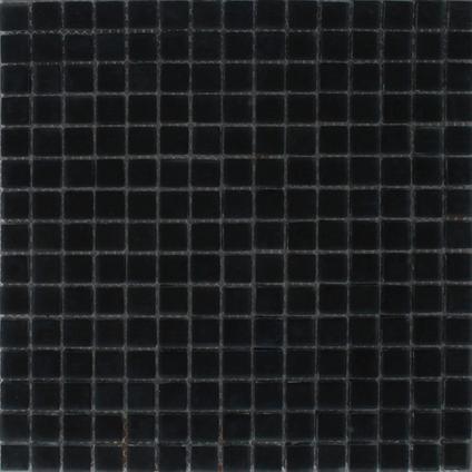Mozaïek tegel Noche zwart mat 30x30cm