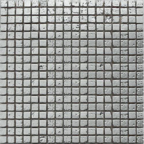 Mozaïek tegel Amor zilver 29,5x29,5cm