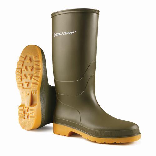 AB-Safety laarzen Dunlop Dull groen maat 39 uni