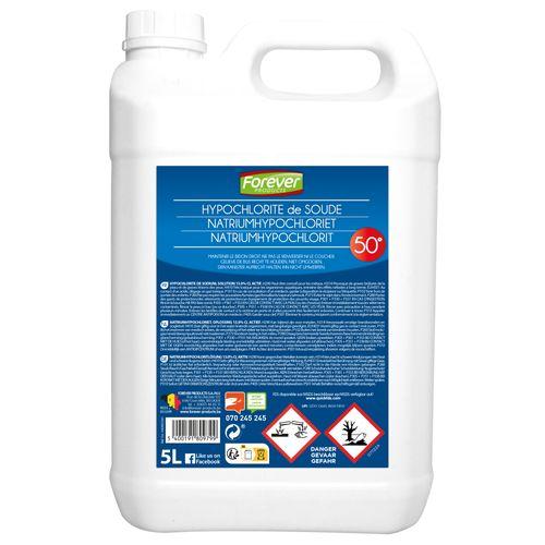 Hypochlorite de soude 50° Forever 5 L