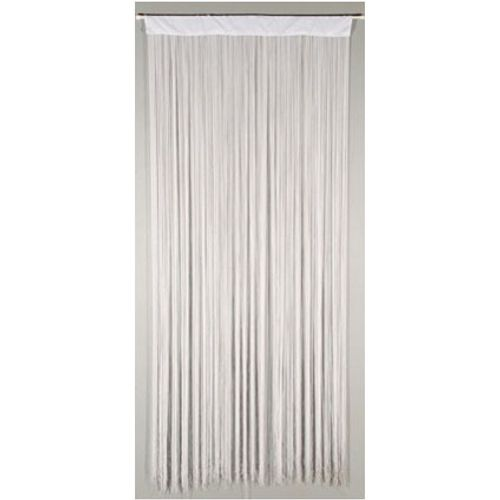 Deurgordijn 'String' wit 2 x 0,9 m