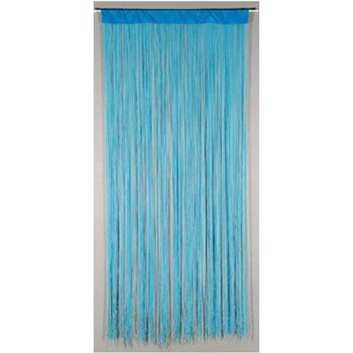 Deurgordijn 'String' blauw 2 x 0,9 m