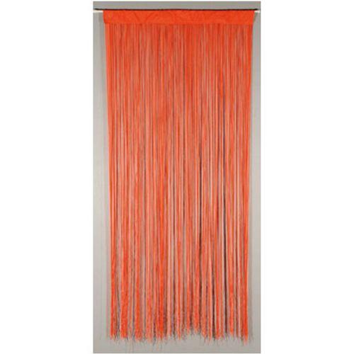 Deurgordijn 'String' oranje 2 x 0,9 m