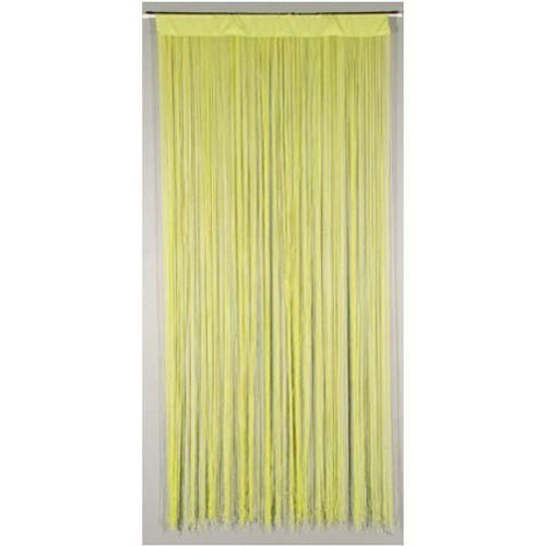 Rideau-portière 'String' vert 2 x 0,9 m