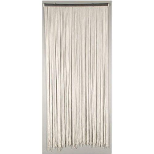Deurgordijn 'Lasso' wit 2 x 0,9 m