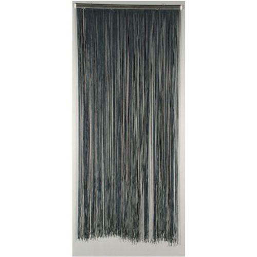 Deurgordijn 'Lasso' antraciet 2 x 0,9 m