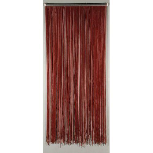 Rideau-portière 'Lasso' bordeaux 2 x 0,9 m
