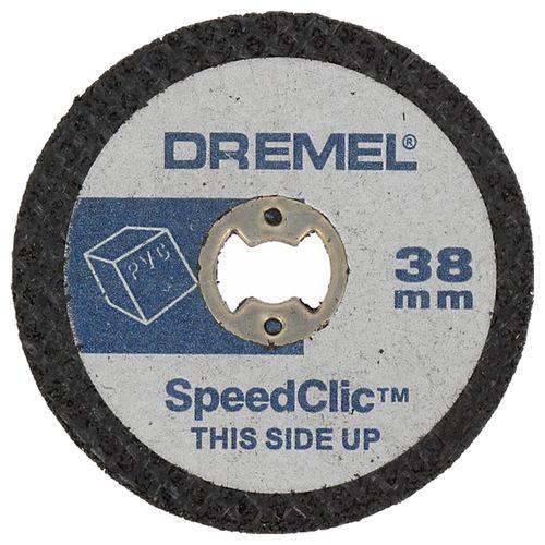Disque à tronçonner Dremel S476JB 38 mm - 5 pièces