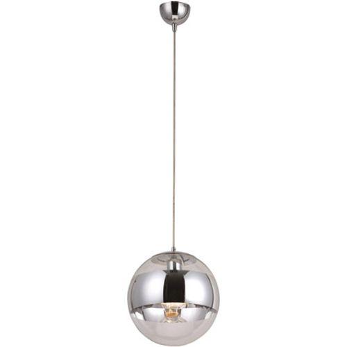Globo hanglamp galactica ø25cm chrome/glas 1x60w