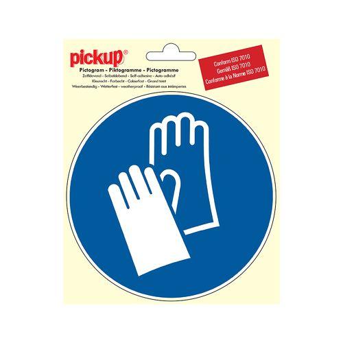 Pictogram Pickup Verplicht veiligheidshandschoenen te dragen