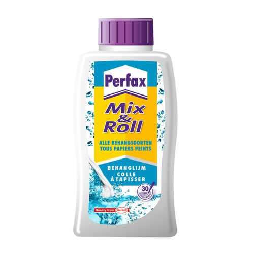 Perfax behanglijm 'Mix & Roll' 500 gr