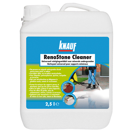 Nettoyant Knauf 'RenoStone Cleaner' 2,5 L