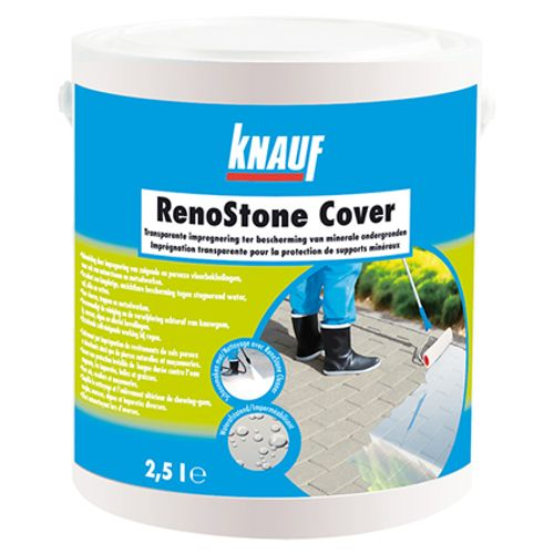 Imprégnation Knauf 'RenoStone Cover' transparent 2,5 L