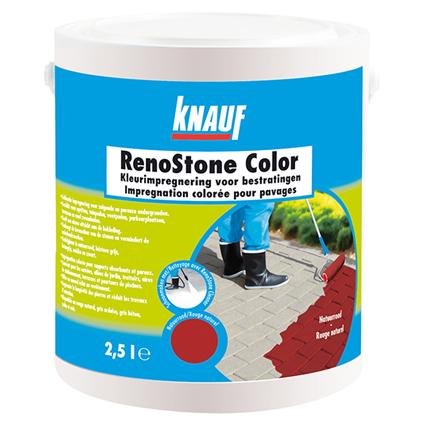 Knauf kleurimpregnering 'RenoStone Color' zwart 2,5 L