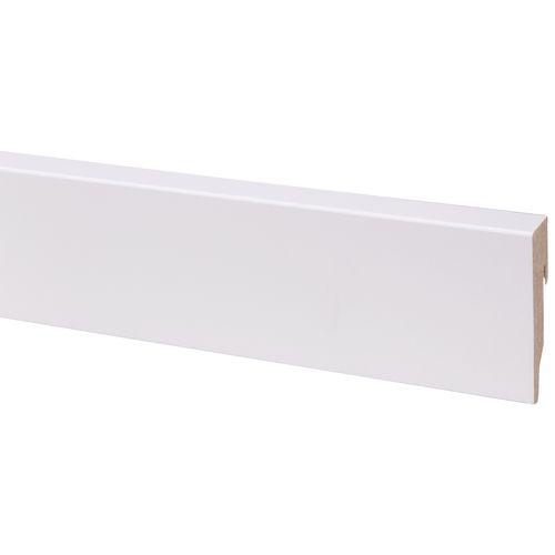 CanDo decoratieve plint blok wit 19 x 79mm