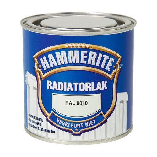 Hammerite radiatorlak RAL 9010 250ml