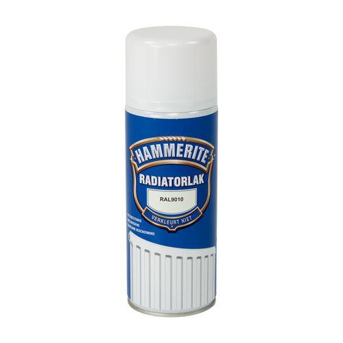 Hammerite radiatorlak RAL 9010 400ml