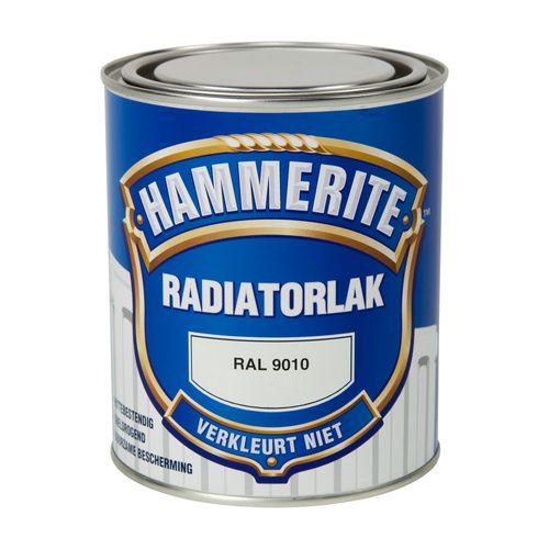 Hammerite radiatorlak RAL 9010 750ml