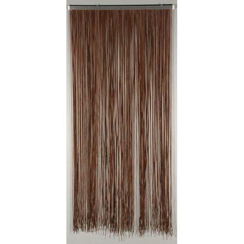 Rideau-portière 'Lasso' brun 2 x 0,9 m