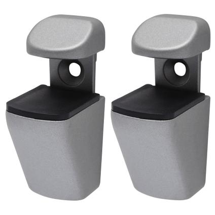Duraline plankdrager 'Mini clip' mat verzilverd