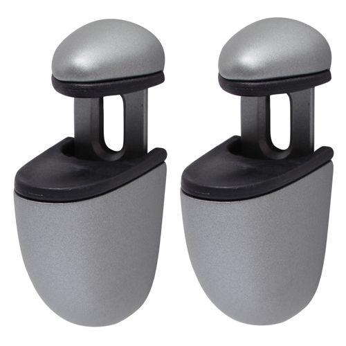 Support pour étagère Duraline Clip Mini argent mat