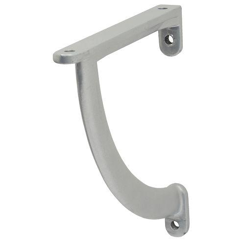 Duraline plankdrager Giaro mat zilver 13x12cm
