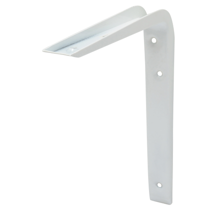 Duraline plankdrager 'Cantilever' wit 25 cm