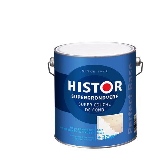 Histor Perfect Base Supergrondverf 2,5 liter Wit