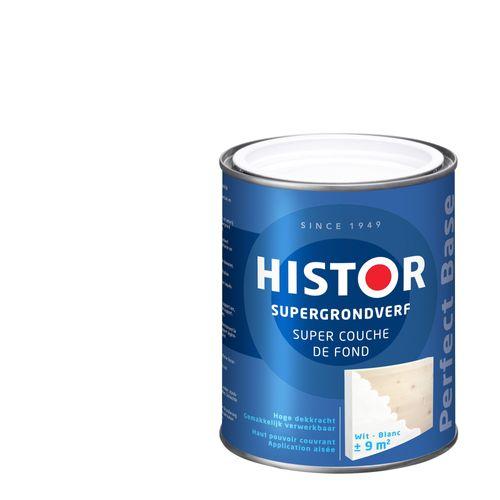 Histor Perfect Base Supergrondverf 0,75 liter Wit