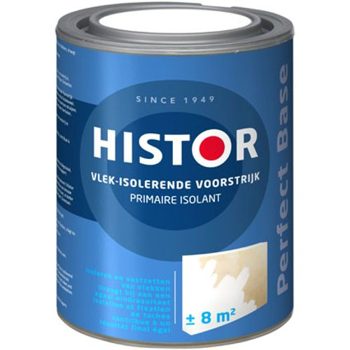 Histor Perfect Base Vlek Isolerende Voorstrijk 1 liter Wit