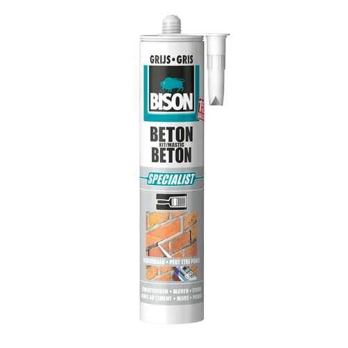 Bison betonkit grijs 310ml
