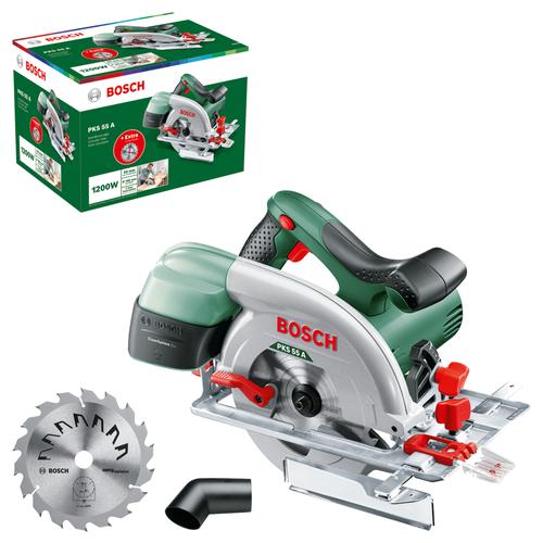 Bosch cirkelzaag 'PKS55A' 1200W