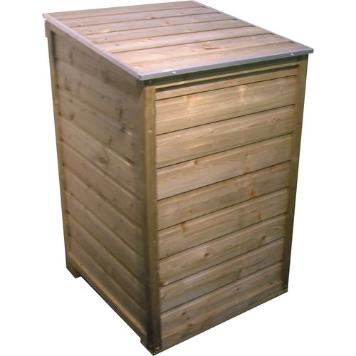 Lutrabox afvalcontainerkast 1 container 76x76x116cm