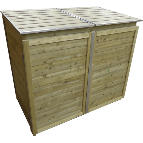 Lutrabox containerkast voor 2 containers 260L