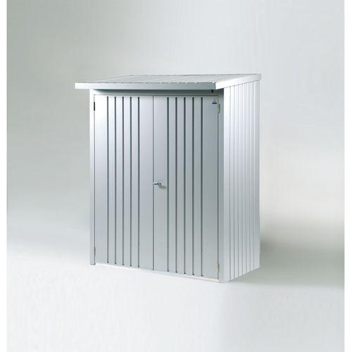 Biohort deurenpakket Woodstock 150 zilver metallic