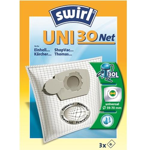 Sac aspirateur Swirl 'Uni 30 Net' - 3 pcs