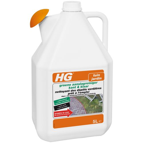 Nettoyant des dépôts verdâtres prêt à l'emploi HG 'Jardin' 5 L