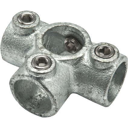 Flexfit T-doorvoer gegalvaniseerd metaal diam. 28 mm